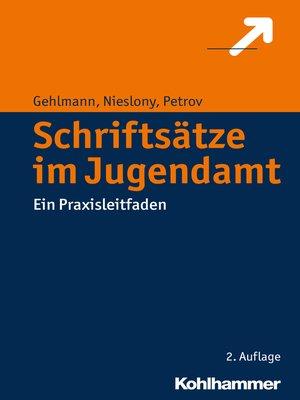 cover image of Schriftsätze im Jugendamt