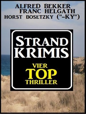 cover image of Strand-Krimis