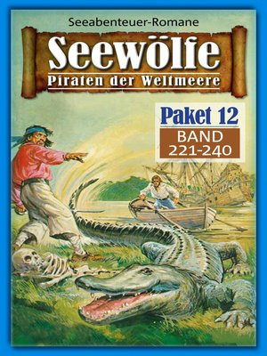 cover image of Seewölfe Paket 12