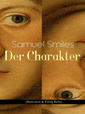 cover image of Der Charakter (Motivation & Erfolg Reihe)