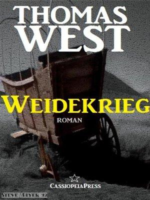 cover image of Weidekrieg
