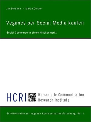 cover image of Veganes per Social Media kaufen