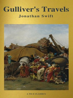 cover image of Gulliver's Travels ( Active TOC, Free Audiobook) (A to Z Classics)