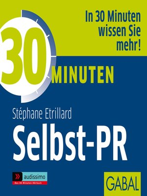 cover image of 30 Minuten Selbst-PR