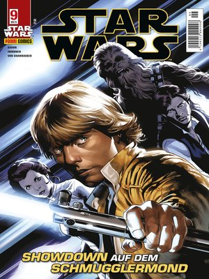 cover image of Star Wars, Comicmagazin 9--Showdown auf dem Schmugglermond