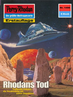 cover image of Perry Rhodan 1498