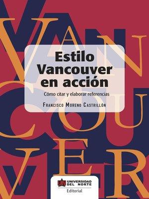 cover image of Estilo Vancouver en acción