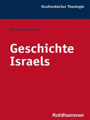 cover image of Geschichte Israels