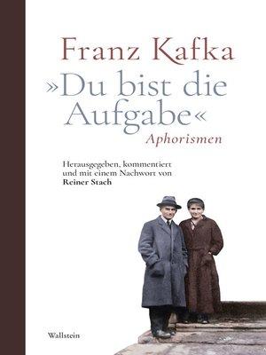 "cover image of ""Du bist die Aufgabe"""