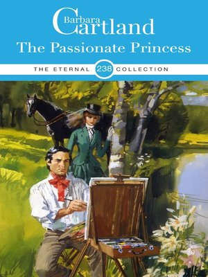 cover image of The Passionate Princess
