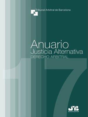 cover image of Anuario Justicia Alternativa