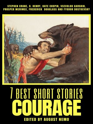 cover image of 7 best short stories--Courage