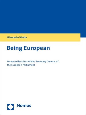 cover image of Being European