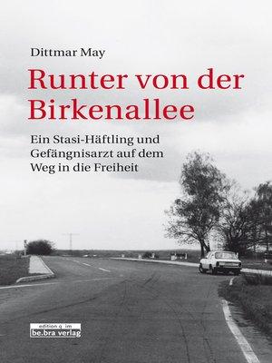 cover image of Runter von der Birkenallee