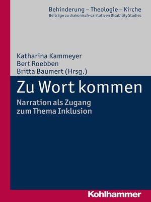 cover image of Zu Wort kommen