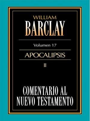 cover image of Comentario al Nuevo Testamento Volume 17