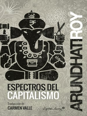 cover image of Espectros del capitalismo