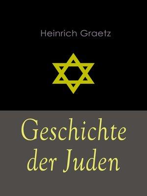 cover image of Geschichte der Juden
