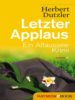 cover image of Letzter Applaus