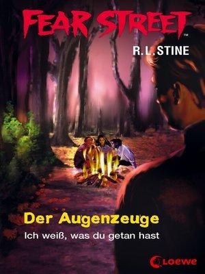 cover image of Fear Street 44--Der Augenzeuge