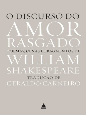 cover image of O discurso do amor rasgado