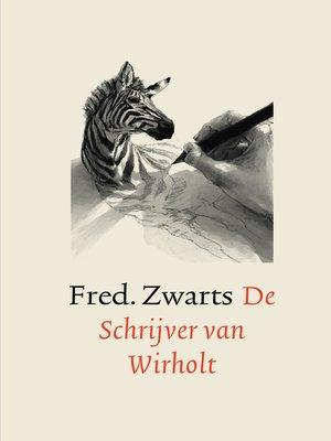cover image of De Schrijver van Wirholt