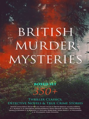 cover image of BRITISH MURDER MYSTERIES Boxed Set