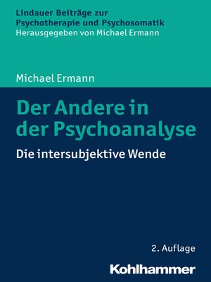 cover image of Der Andere in der Psychoanalyse