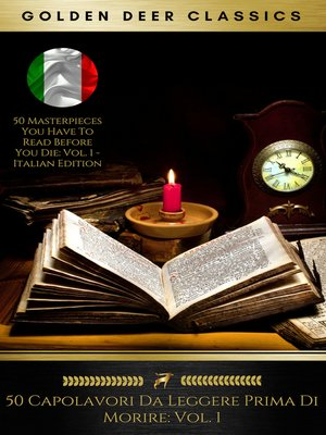 cover image of 50 Capolavori Da Leggere Prima Di Morire
