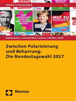 cover image of Zwischen Polarisierung und Beharrung