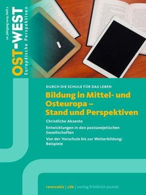 cover image of Bildung in Mittel- und Osteuropa--Stand und Perspektiven