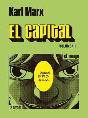 cover image of El capital. Volumen I