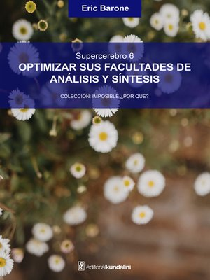 cover image of Optimizar sus facultades de análisis y síntesis