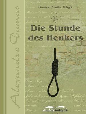 cover image of Die Stunde des Henkers