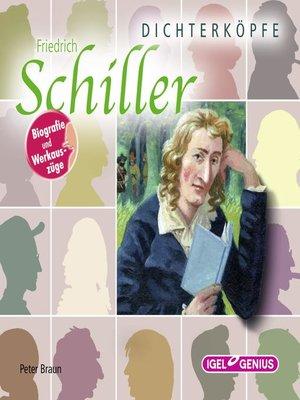 cover image of Dichterköpfe. Friedrich Schiller
