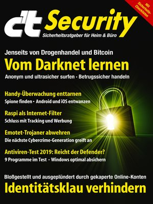 cover image of c't Security (2019)