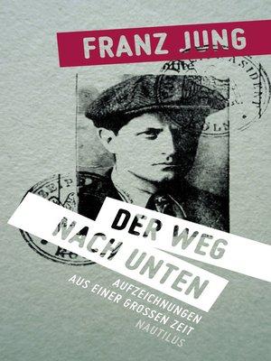 cover image of Der Weg nach unten