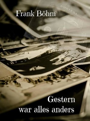 cover image of Gestern war alles anders