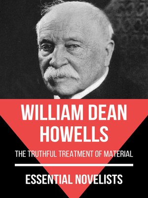 cover image of Essential Novelists--William Dean Howells