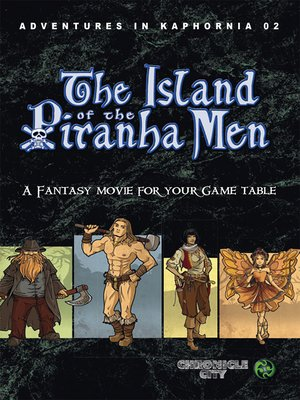 cover image of Adventures in Kaphornia 02--The Island of the Piranha Men