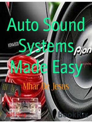 cover image of Auto Sound Systems Made Easy