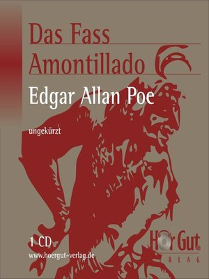 cover image of Das Fass Amontillado