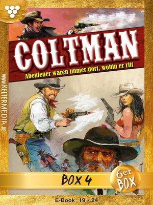cover image of Coltman Jubiläumsbox 4 – Erotik Western