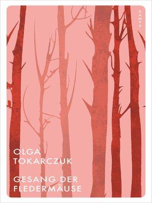 cover image of Gesang der Fledermäuse