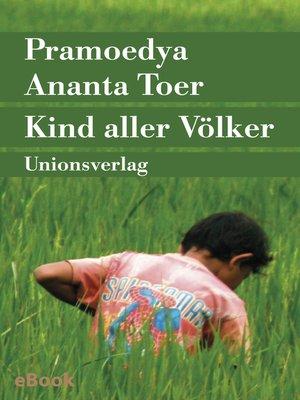 cover image of Kind aller Völker