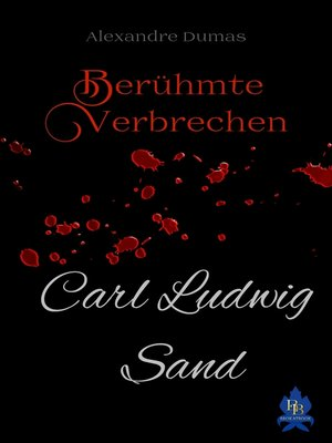 cover image of Carl Ludwig Sand