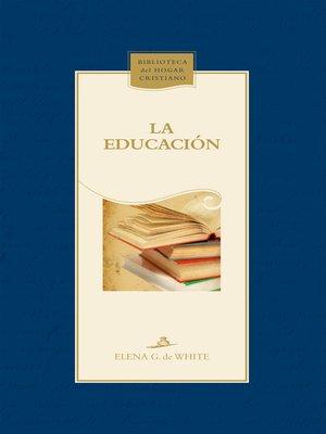 cover image of La educación
