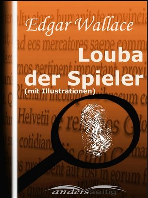 cover image of Louba der Spieler (mit Illustrationen)