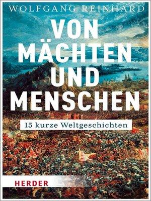 cover image of Von Mächten und Menschen
