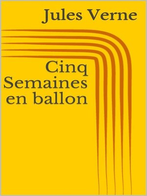 cover image of Cinq Semaines en ballon